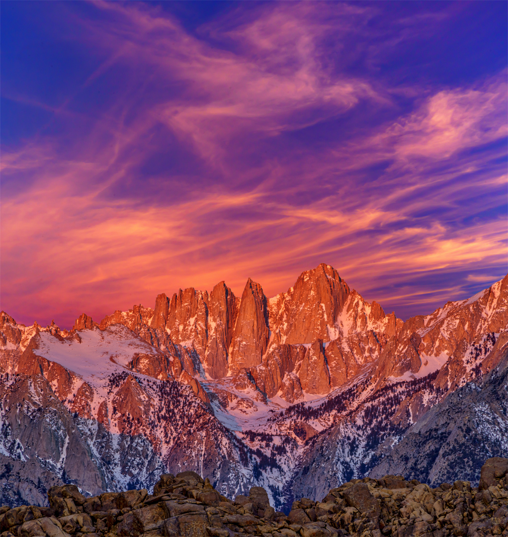 Sunrise Mt Whitney1 3-30-18