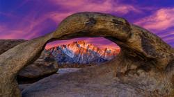 Sunrise Arch-Mt Mallory1 3-30-18