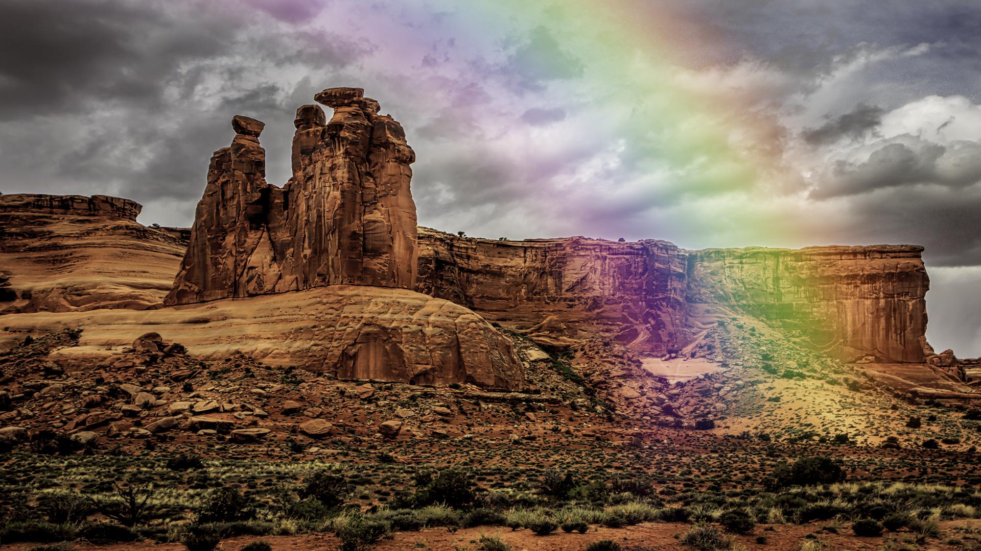 Arches Rainbow5
