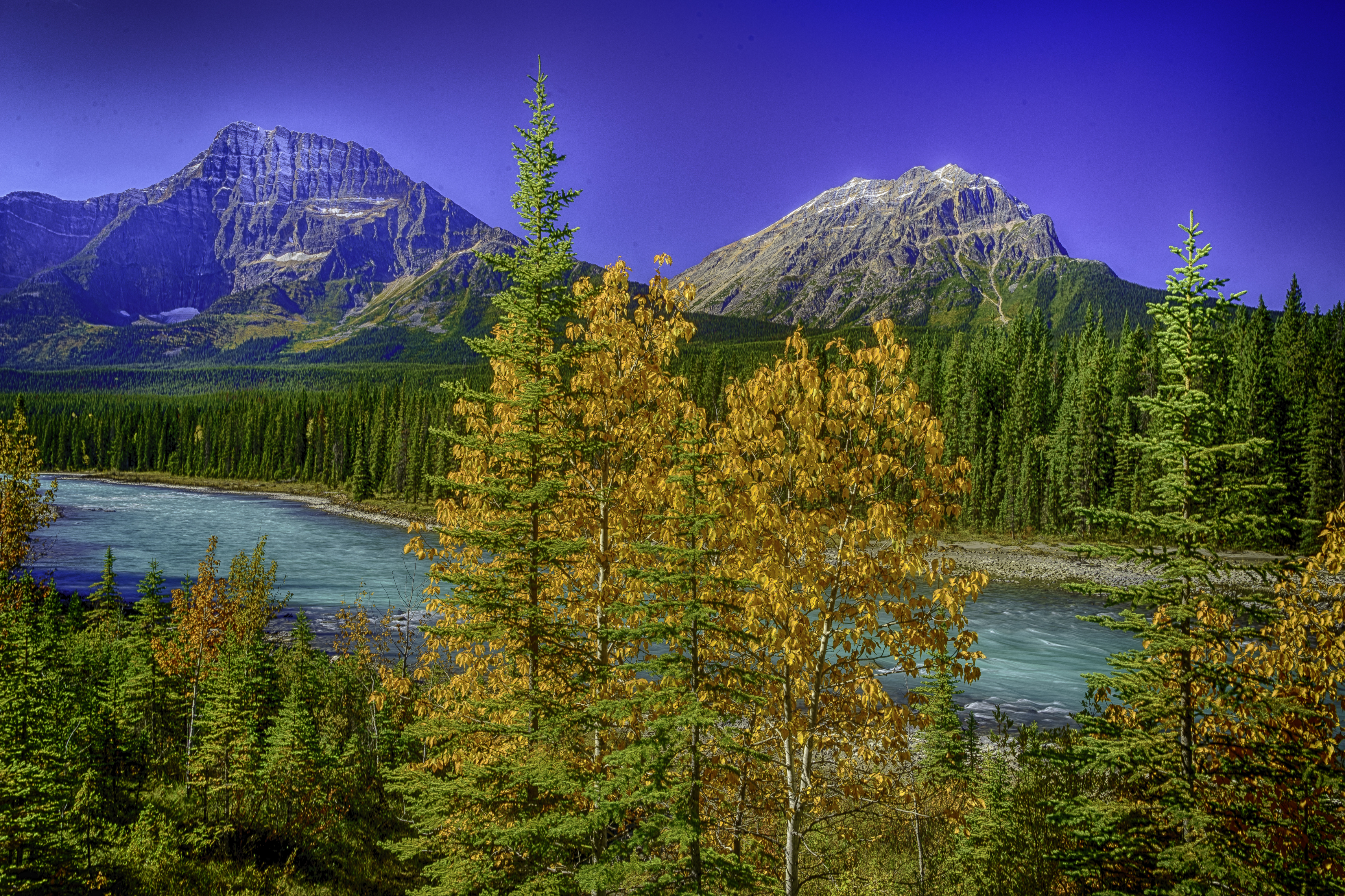 Bow River, Canadian Rockies