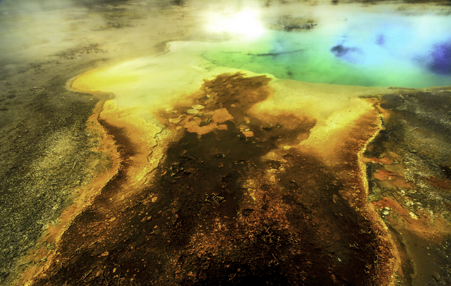 Yellowstone National Park, (abstract