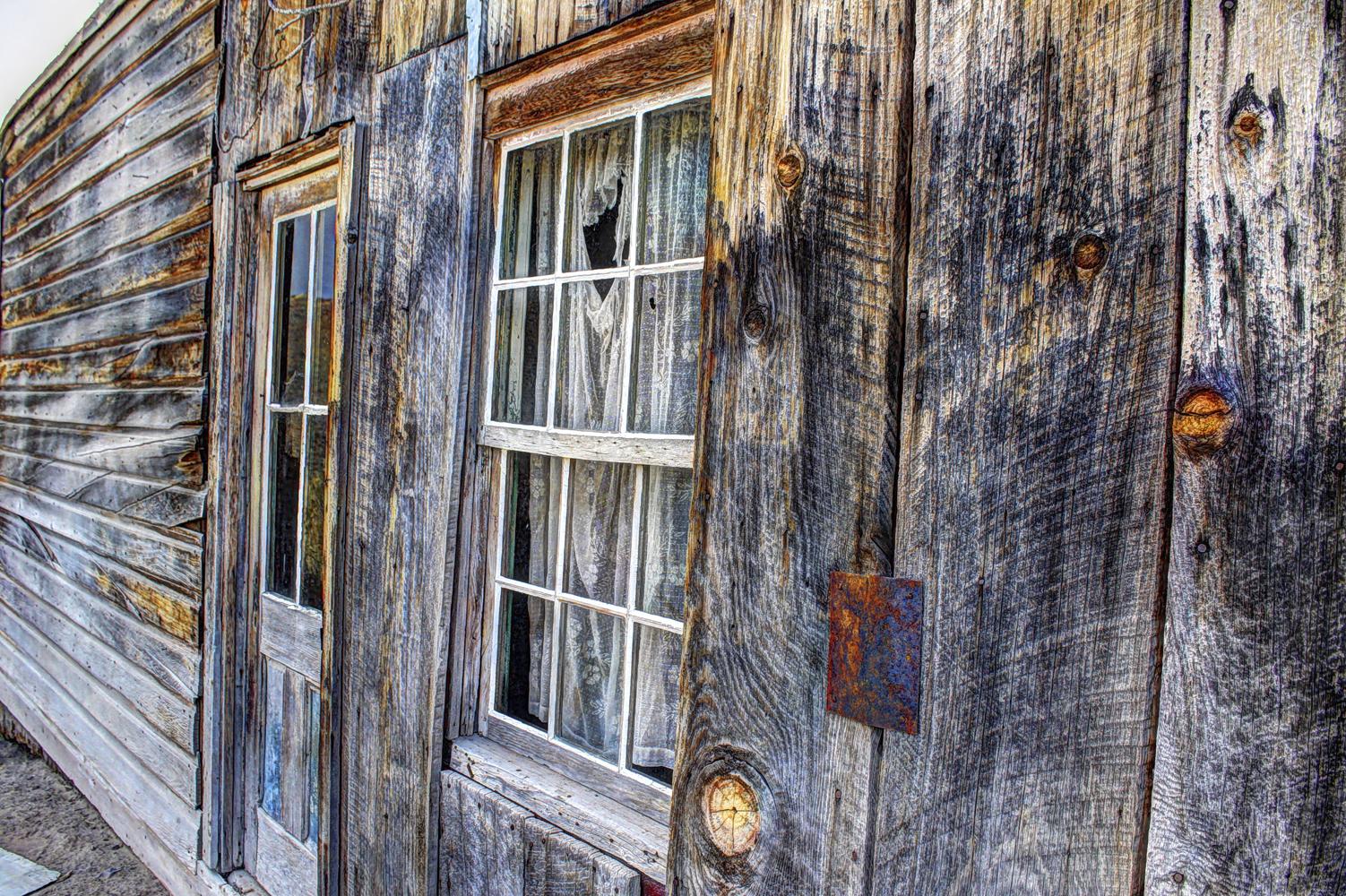 Bodie Window Door, Bodie, California