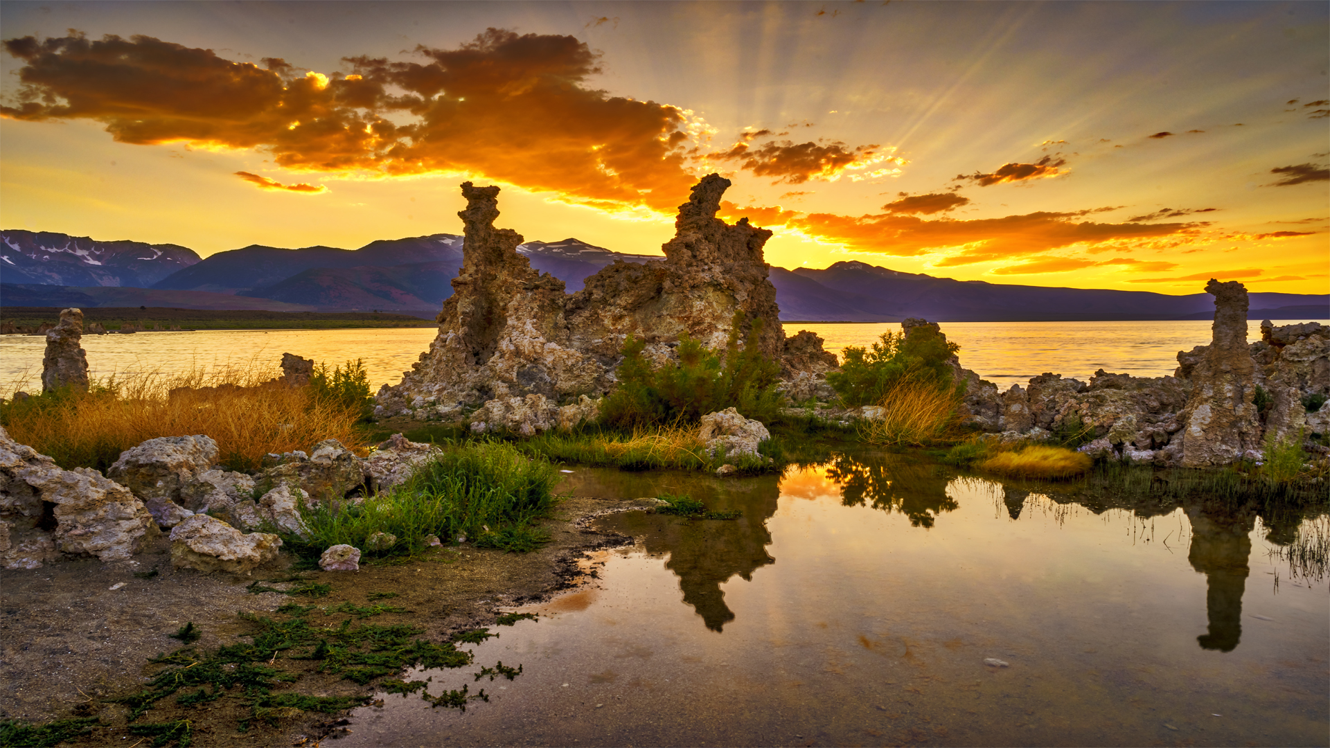 Sunset Mono Lake Tufa2