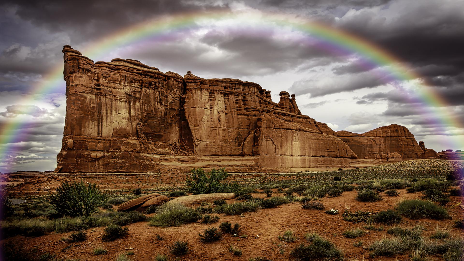 Arches Rainbow2