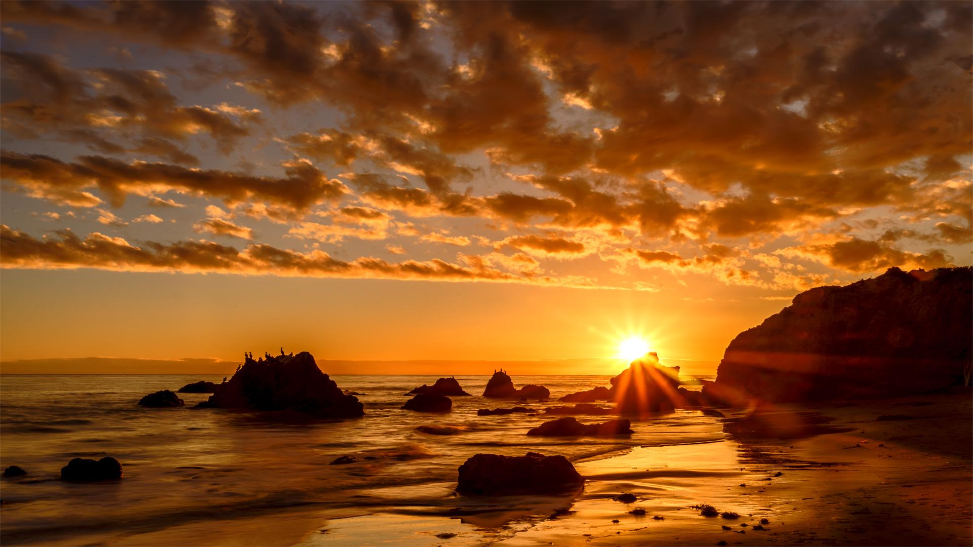 El Matador Beach Sunset1 2-13-18