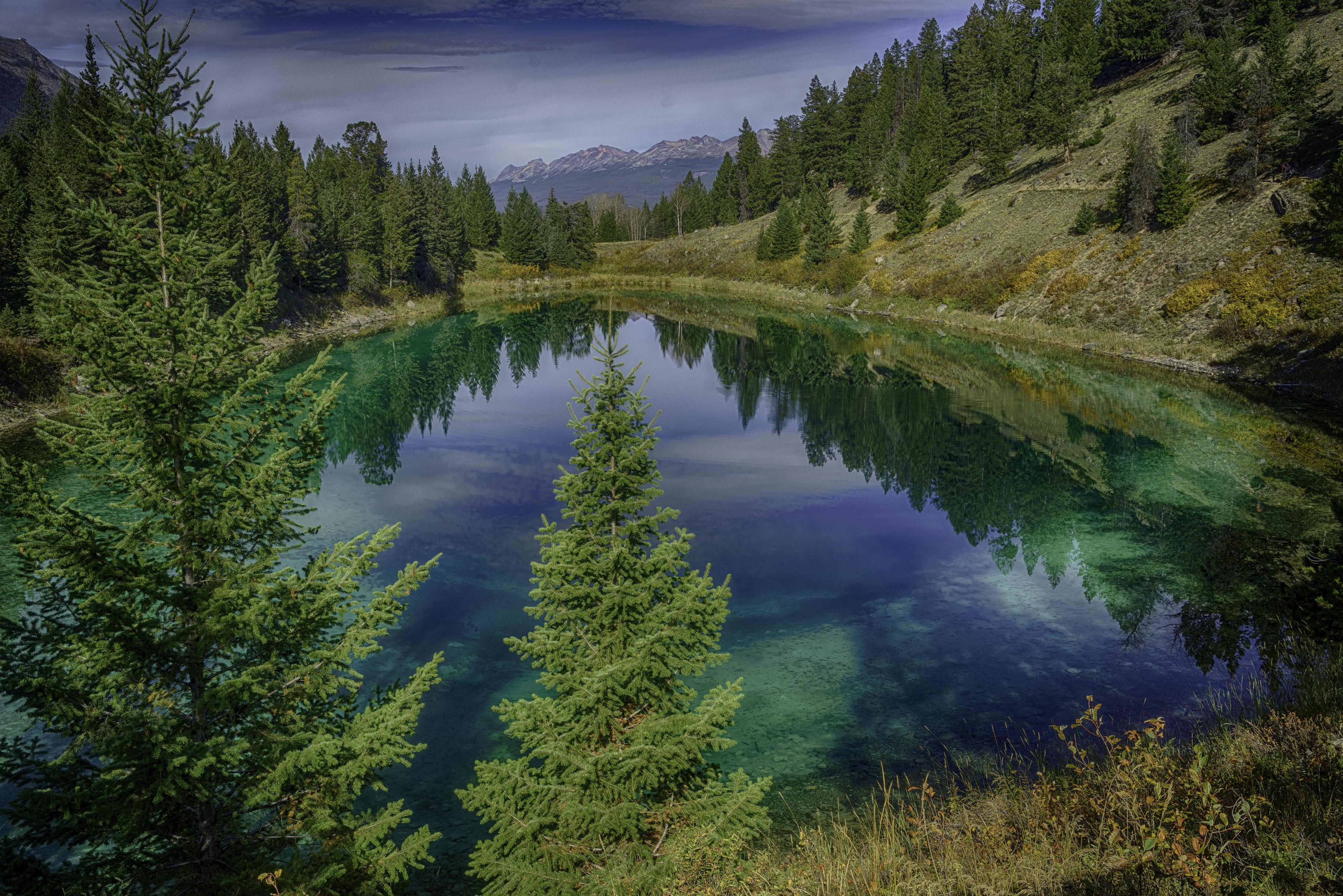 Valley of 5 Lakes, Alberta, Canada