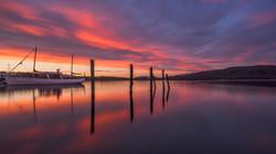 Lake TeAnau Sunrise1