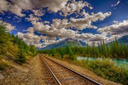 Banff Rails, Canadian Rockies
