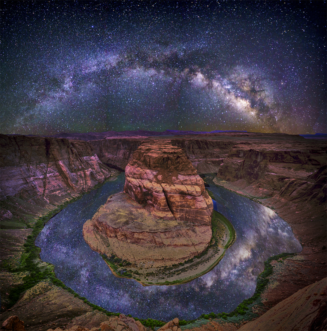 Horseshoe Bend Milky Way1