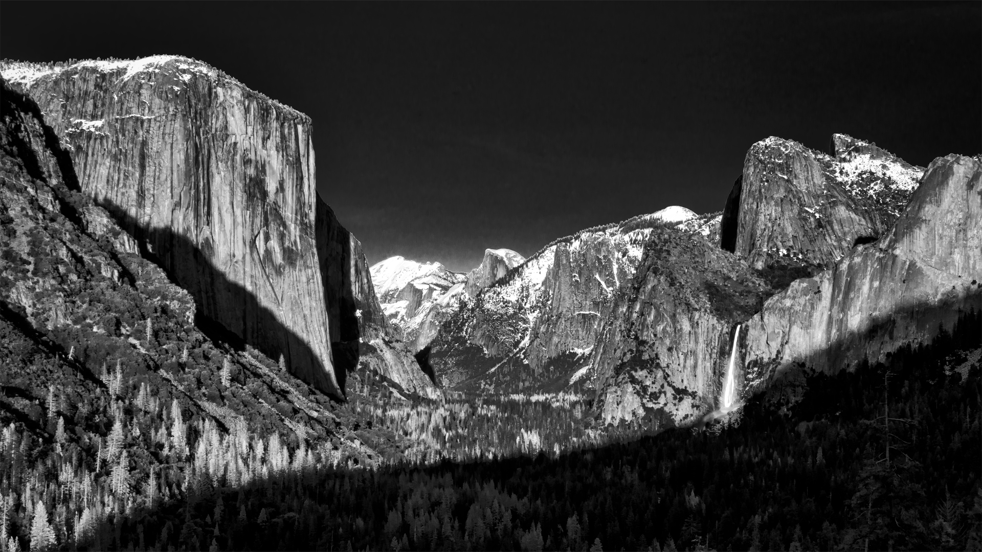 Yosemite Valley BW2