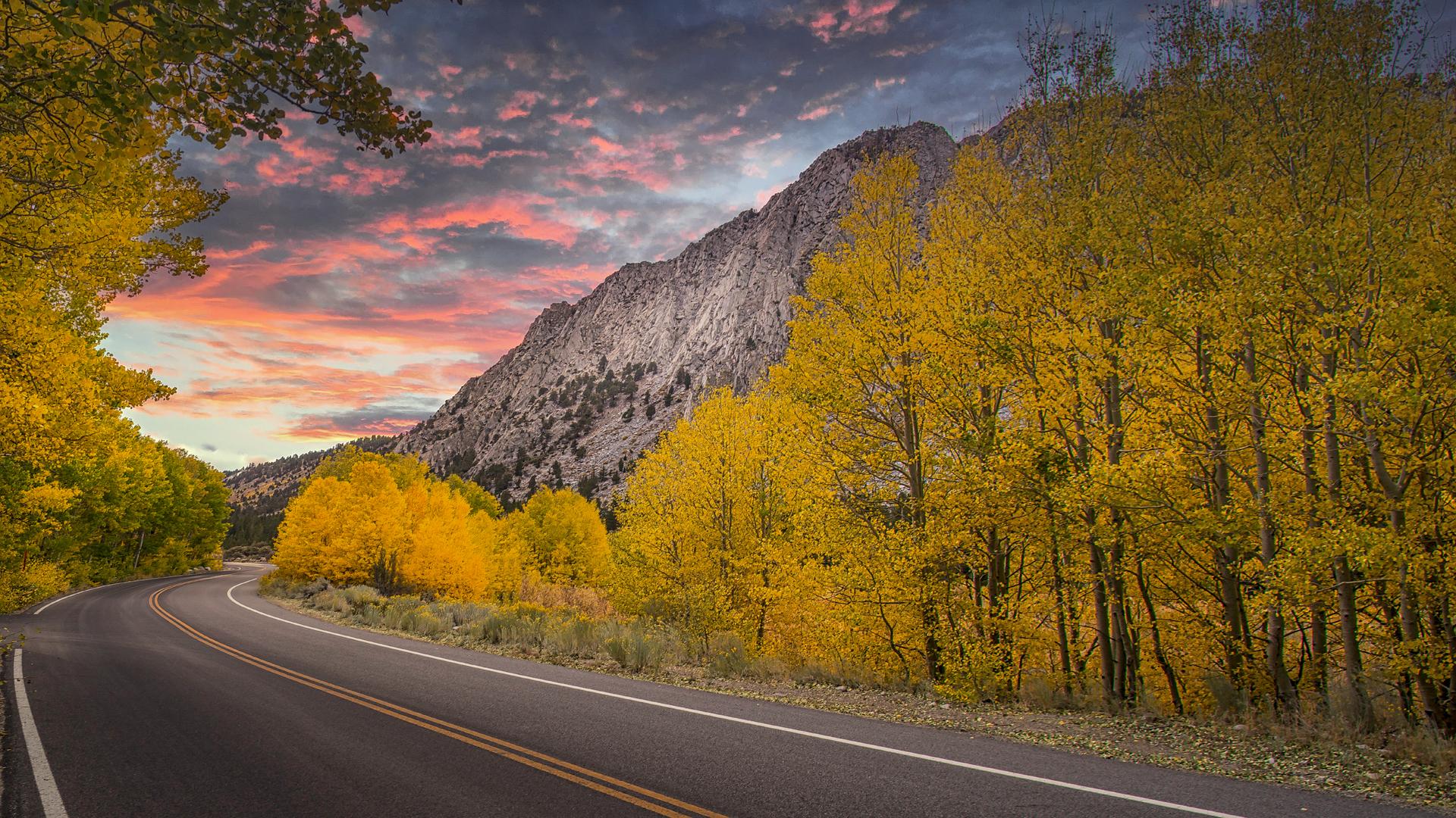 Rock Creek Fall Color Sunset23