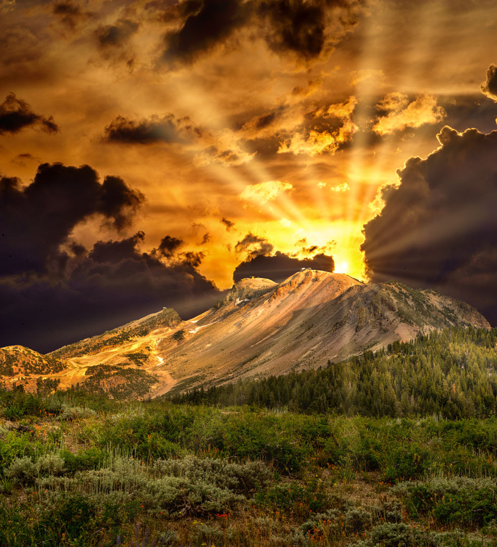 MM Sunset1 sunrays