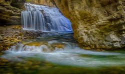 Johnston Canyon Falls9_HDR