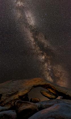 Milky Way Joahua Tree Arch1