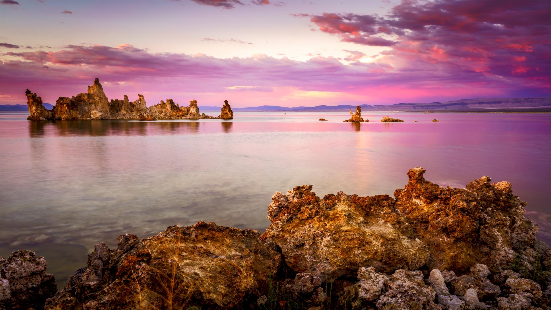 Sunset Mono Lake Tufa4