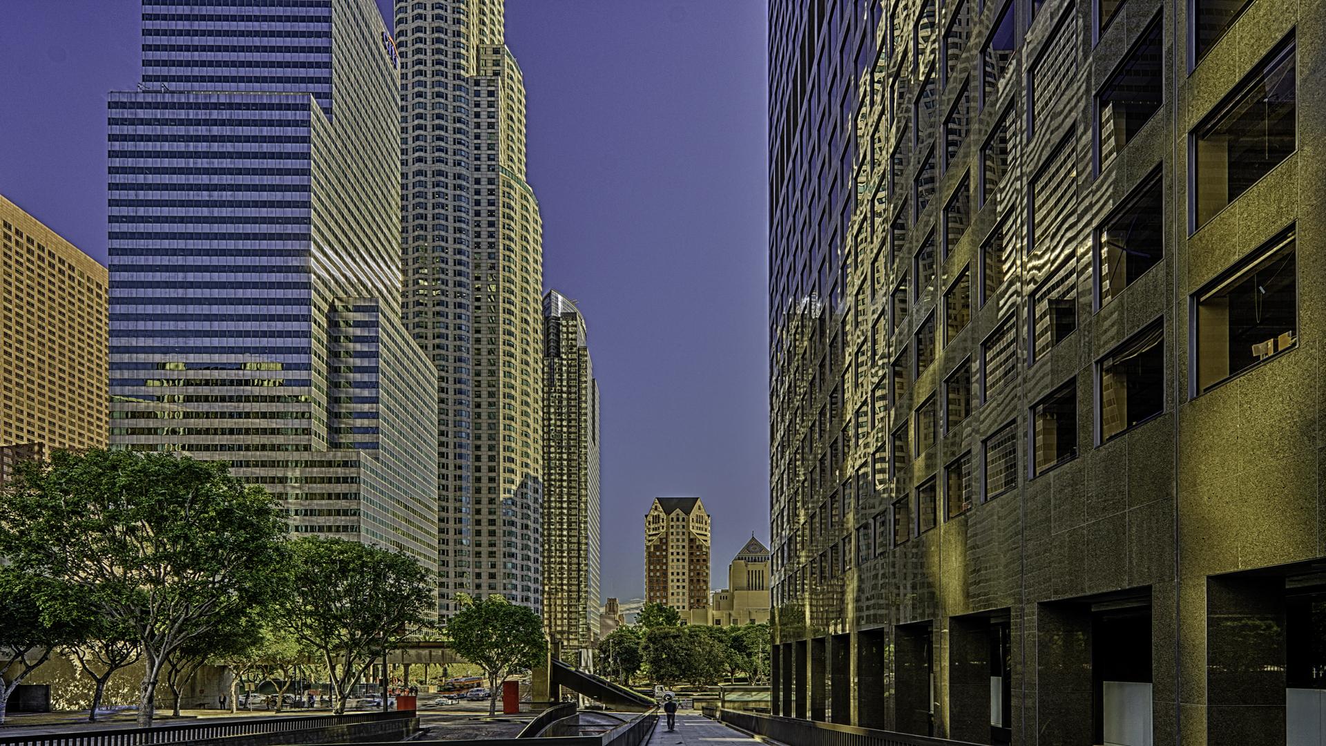 DowntownLA2, Los Angeles cityscape