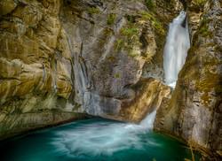 Johnston Canyon Falls2_HDR