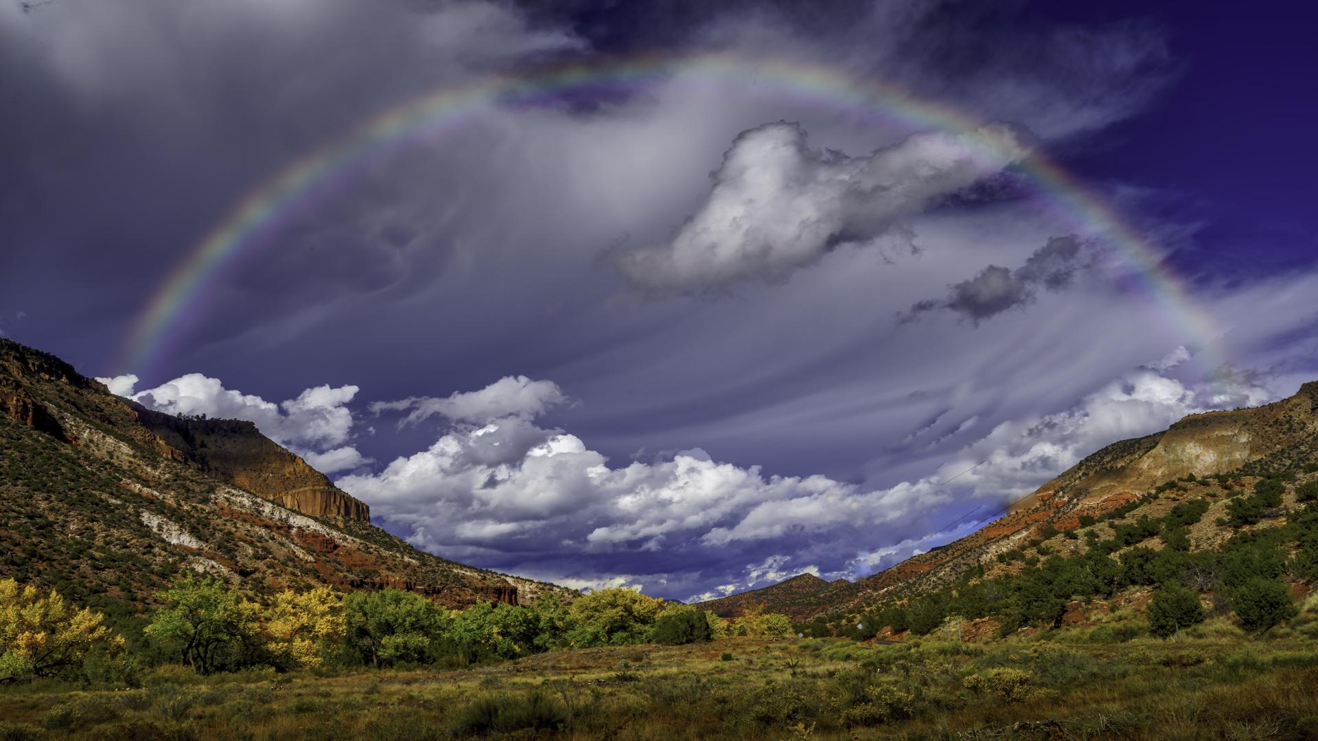Jimez Mtn Trail NM Rainbow1