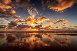 Sunset at Fletcher Cove