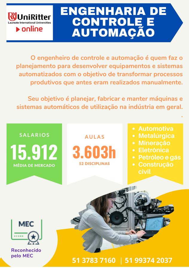 ENGENHARIA DE AUTOMAÇÃO