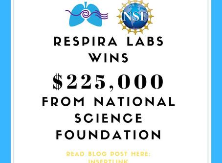 NSF Awards Respira Labs $225K