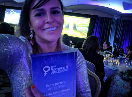 CEO of Respira Labs named Entrepreneur of the Year at the Women in IT Awards