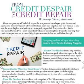 From Credit Despair To Credit Repair