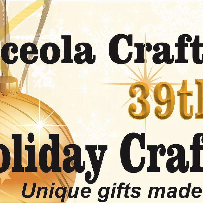 39th Annual Holiday Craft Market