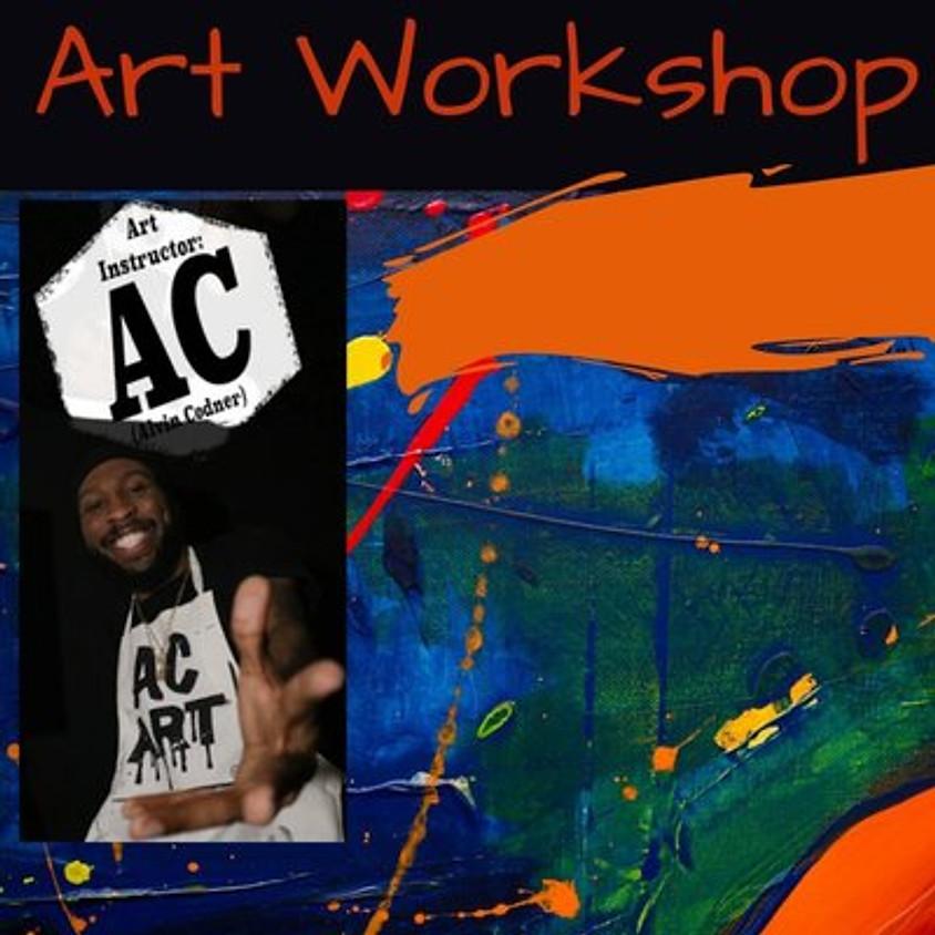 Healthcare Heros Art Workshop with AC