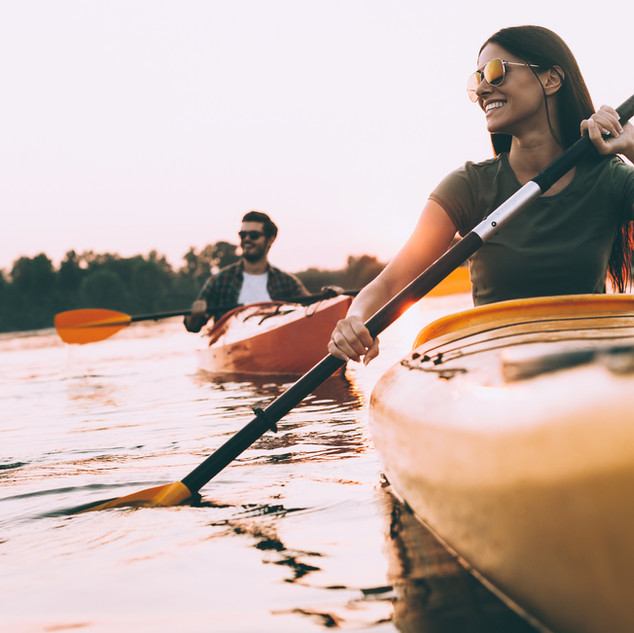 Enjoy an afternoon on the water