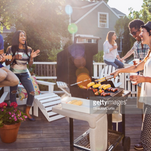 Enjoy a cookout with your neighbors