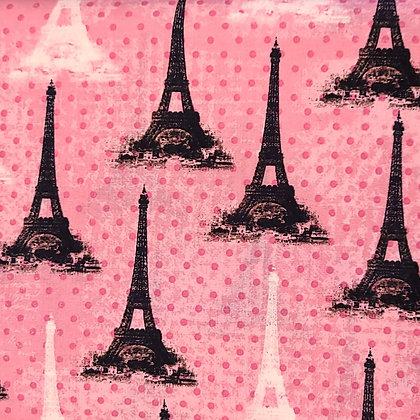 Polka Dot Paris Fabric by the Yard