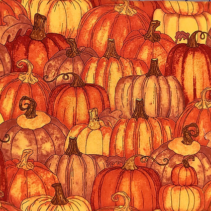 Pumpkin Patch Fabric by the Yard