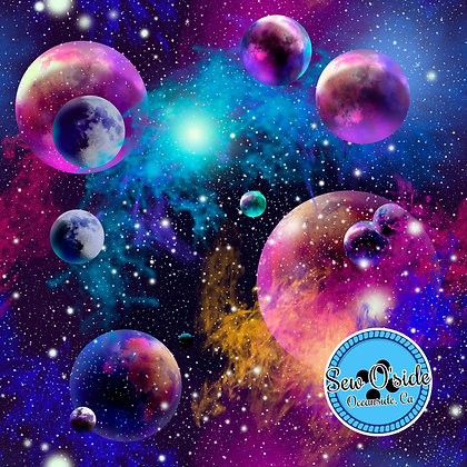 Galaxy Sew O'side Exclusive 100% Woven Cotton by the Yard