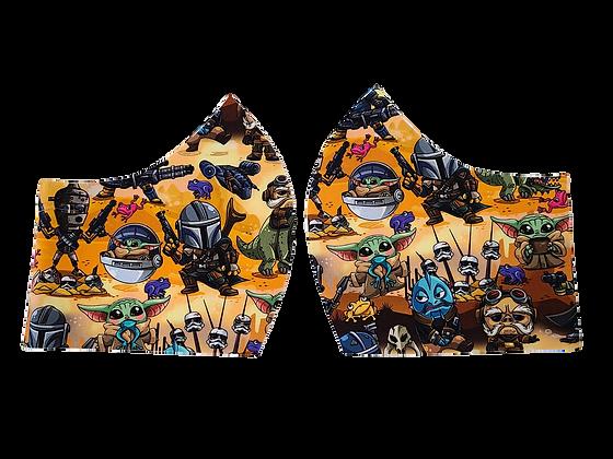 Mando Face Mask