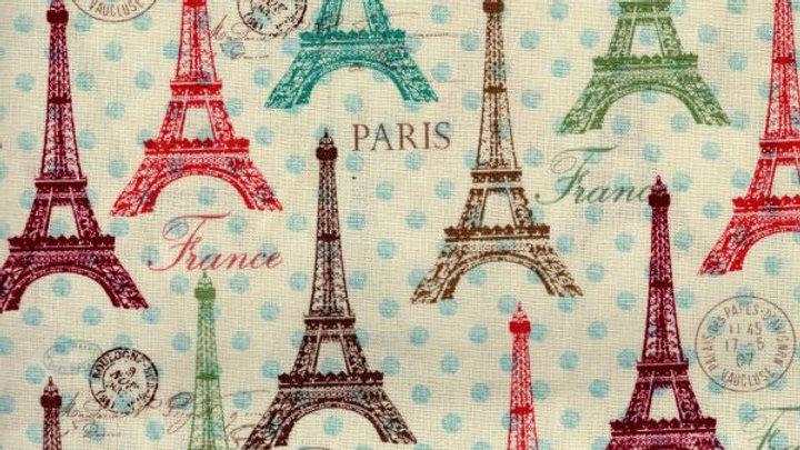 Eiffel Towers Fabric by the Yard