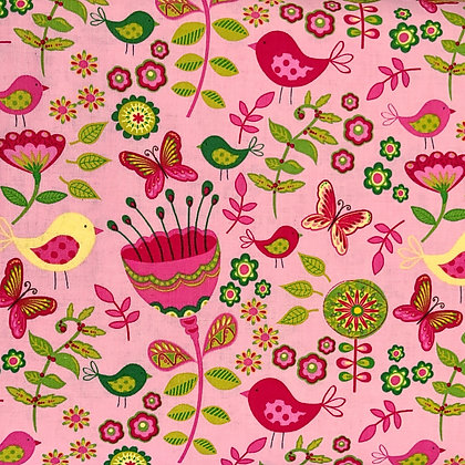Early Bird Fabric by the Yard