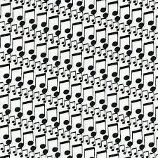Music Notes Fabric by the Yard