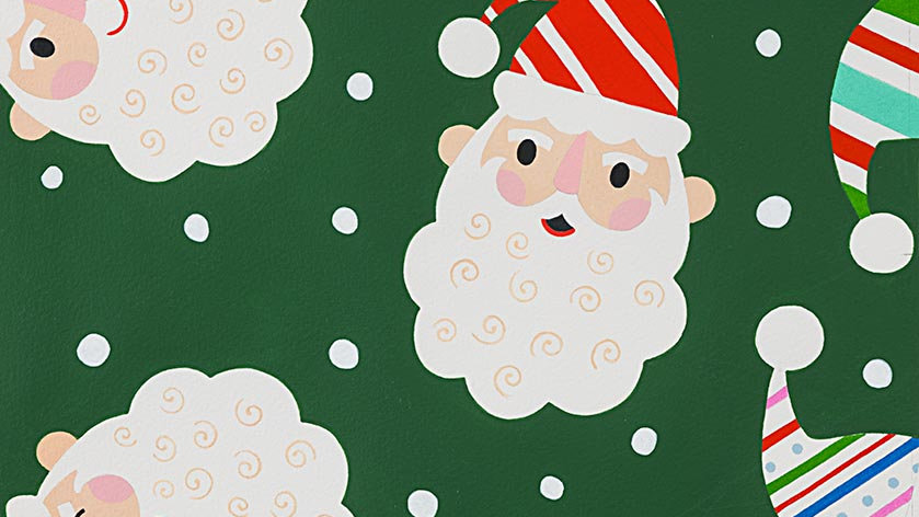 Candy Cane Kringle - Alexander Henry Fabric by the Yard