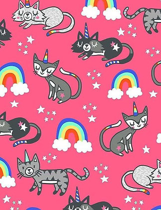 Uni-Kitty Fabric by the Yard