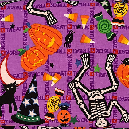 Trick or Treat Fabric by the Yard