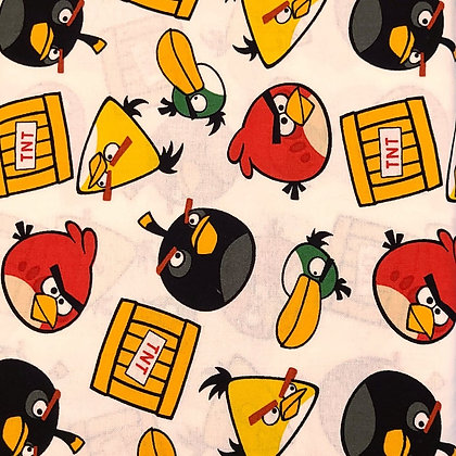Angry Birds Fabric by the Yard