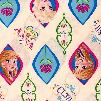 Frozen Ornaments Fabric by the Yard