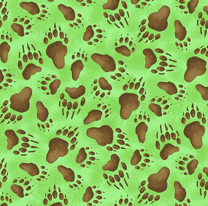 Bear Paw Fabric by the Yard