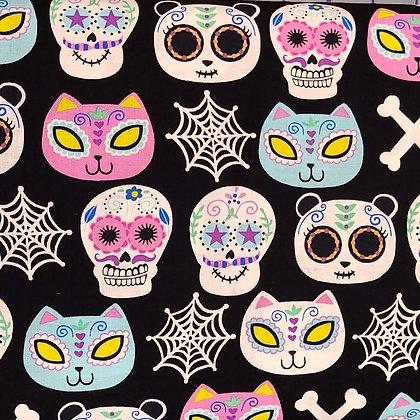 Sugar Skulls Fabric by the Yard
