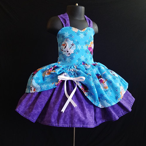 Frozen Sisters MiniBelle Dress