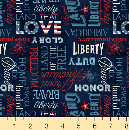 American Valor Fabric by the Yard