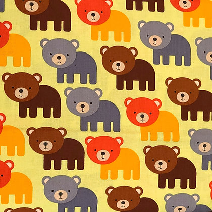 Beary Cute Fabric by the Yard