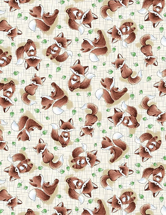 Fox Trot Fabric by the Yard