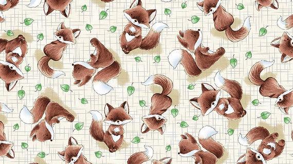 Fox Trot Fabric by the Yard